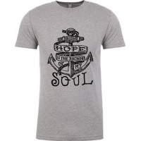 HOPE IS THE ANCHOR OF MY SOUL - T-SHIRT HOMMES - TAILLE XL