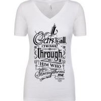I CAN DO ALL THINGS - T-SHIRT FEMMES - TAILLE S