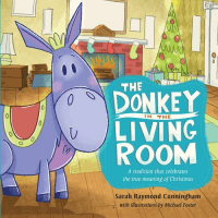 DONKEY IN THE LIVING ROOM (THE)- WITH NATIVITY SET