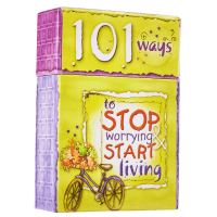 PROMISEBOX 101 WAYS TO STOP WORRYING AND START LIVING