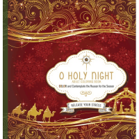 O Holy Night- Adult Coloring Book - Color and contemplate the reason for the season