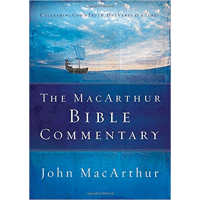 MACARTHUR BIBLE COMMENTARY RELIE