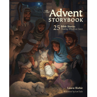 The Advent Storybook - 25 Bible Stories Showing Why Jesus Came