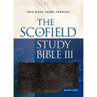 Anglais, Bible, New King James Version, Scofield Study Bible III - NKJV, Black Bonded Leather, Indexed