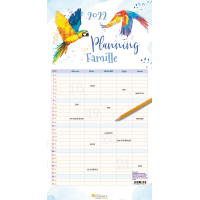 Planning famille - Calendrier mural