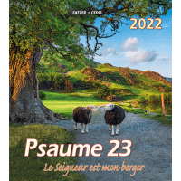 Psaume 23 [grand format] calendrier mural